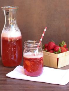 Fresh and juicy strawberry sangria with Sauvignon Blanc or Pino Grigio is another great way to enjoy some great wine and fruit.