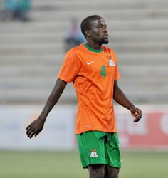 Adrian Chama of Zambia during the 2016 Cosafa Cup Plate Semifinal  match between Lesotho and Zambia at Sam Nujoma Stadium in Windhoek Namibia on 21 June, 2016 ©Muzi Ntombela/BackpagePix