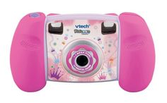 "VTech - Kidizoom Digital Camera - Pink - Product Description:Product Packaging: RetailFrom the ManufacturerSmile and say ""cheese""! With endless fun, the Kidizoom™ Camera Pink from VTech® allows your child to become an instant photograph Big Sister Kit, Kids Digital Camera, Digital Cameras, V Tech, Kids Electronics, Toys R Us, Sister Gifts, Creative Kids, Fujifilm Instax Mini"
