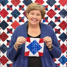 Quilting should be fun and we give you easy quilting projects, quick quilting how-to tutorials, and commentary to keep you smiling till the very last stitch. Missouri Star Quilt Tutorials, Quilting Tutorials, Quilting Designs, Msqc Tutorials, Quilting Projects, Star Quilt Blocks, Star Quilt Patterns, Star Quilts, Charm Pack Quilts