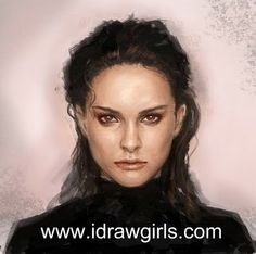 Learn how to draw and paint portrait.  iDrawGirls.com