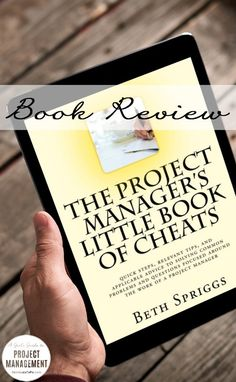 Beth Spriggs wrote this handy little guide to be a better project manager. It is both a quick read and funny!