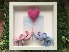 Beste 11 - Lilly is Love Crochet Wall Art, Crochet Wall Hangings, Crochet Box, Crochet Baby Toys, Crochet Bunny, Crochet Patterns Amigurumi, Crochet Gifts, Cute Crochet, Crochet Animals
