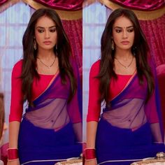 cut which you want. Indian Designer Outfits, Indian Outfits, Modern Saree, Silk Saree Blouse Designs, Saree Photoshoot, Simple Sarees, Stylish Sarees, Elegant Saree, Most Beautiful Indian Actress