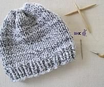 Easy Knit Hat for Beginners