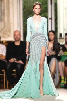 Georges Hobeika Fall-Winter 2012-2013 collection at Paris Couture Fashion Week