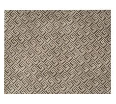 Grayson Tufted Rug, 8x10', Taupe