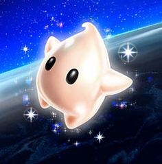 "Luma. The end of Super Mario Galaxy is so sad...but so happy at the same time. ""Welcome! Welcome new galaxies!"""