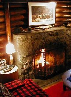 Log Cabin Look