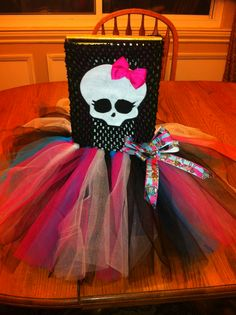 Custom order Monster High dress! Www.facebook.com/natalies2cutetutus