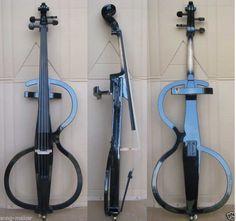 4/4 New Solidwood Electric Cello Nice Sound Black #9 | eBay