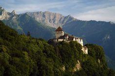 Vaduz Castle, home of the Prince of Liechtenstein. Photo Credit