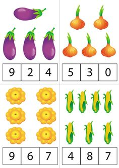 Fruit and vegetables activities coloring pages ideas English Worksheets For Kids, Kindergarten Math Worksheets, Numbers Preschool, Preschool Math, Montessori Math, Christmas Math, Kids Learning Activities, Math For Kids, Kids Education