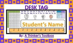 Back To School Desk Tags Grades 2-3! Included in this product are desk tags that you can personalize with your student's names. These are common core aligned and are great for 2nd and 3rd Graders.