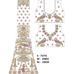 Embroidery Design type is Cording Designs, Area/Width:, mm, Niddle/Colors:, Tag:. Lehenga, Embroidery Designs, Chandelier, Stitch, Sewing, Color, Candelabra, Full Stop, Dressmaking