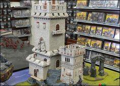 Warhammer - Scenery; Castle