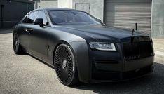 2021 Rolls Royce Ghost, Matt Black Beast by RDB !
