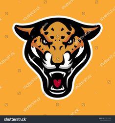 Vector Mascot Cartoon Illustration Roaring Leopard Stock Vector (Royalty Free) 1729171633 Royalty Free Stock Photos, Cartoon, Sport, Logo, Illustration, Pictures, Image, Engineer Cartoon, Photos