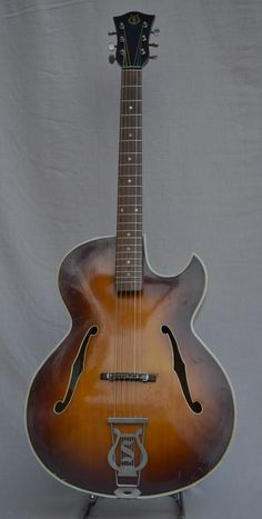 1967 Selmer Diplomat archtop guitar made by Hofner, this one is from Smakula Fretted Instruments