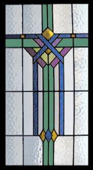 Art Deco & Nouveau Stained Glass Windows