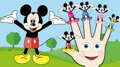 Finger Family Mickey Mouse Nursery Rhyme | Nursery Rhyme Songs for Children