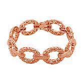 Open Link Bracelet in 18K Gold over Bronze, available at #HelzbergDiamonds