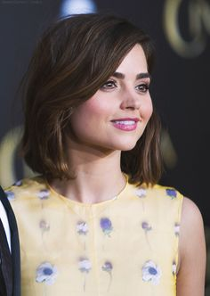 Jenna Coleman at the LA premiere of Cinderella, March 1, 2015.