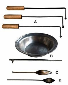 Examples of surgeons cautery tools (barber tools). These are reproductions of Italian finds. Likely the tools used for early wood burning were the same or similar. Healthy Body Images, Archaeological Finds, Take My Breath, Acupuncture, Pyrography, Archaeology, Medieval, Kitchen Stuff, Wood Burning