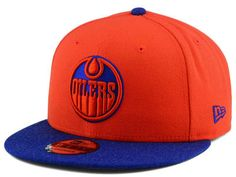 41cc87b259e Edmonton Oilers New Era NHL Heather 9FIFTY Snapback Cap Team Cap