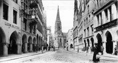 Um 1900 - Münster (Westfalen) - Blick auf den Prinzipalmarkt ☺