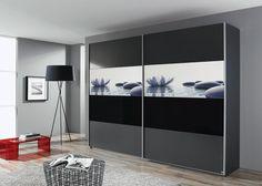 New Schrank Soluno cm Grau mit Motiv Stone Buy now at https