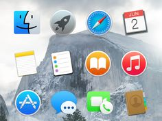Today's freebie contains an icon set with Apple's Yosemite OS X icons, that should come in handy for your future projects. The icons are 100% scalable and fully editable