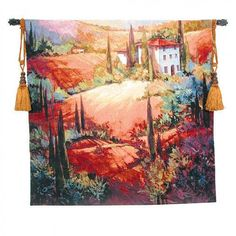 Fine Art Tapestries Venetian Light Tapestry - Michael O'Toole - 3230-WH