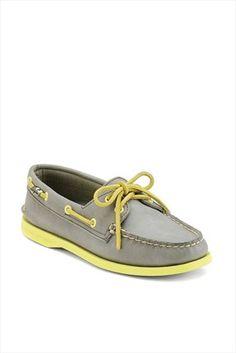 Sperry Top-Sider - Gri Sarı Ayakkabı 9826413 sadece 159,99TL ile Trendyol da