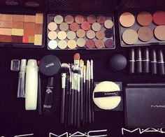 I WILL have a mac collection like this eventually! Already started it :)