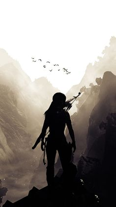 Tomb Raider Game, Tomb Raider Lara Croft, Fantasy World, Dark Fantasy, Fantasy Art, Hunter Of Artemis, Raiders Wallpaper, Mystique, Character Aesthetic