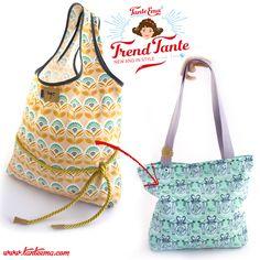 Die Taschen-Trend-Tante mit goldigem Look