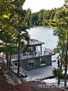 Photo Gallery: Muskoka Cottages   House & Home