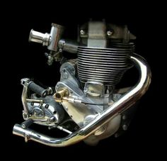 The best looking Bsa engine ever.