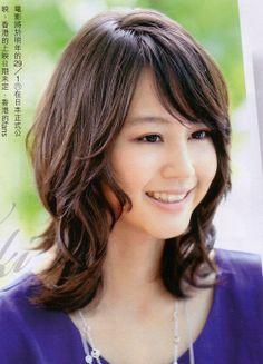 Horikita Maki cute layered haircut