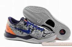 Nike Kobe 8 Mine Grey Basketball Shoes. More nike kobe 9 shoes for sale,buy cheap kobe shoes at www.24hshoesmall.com