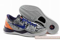 Nike Kobe 8 Mine Grey Basketball Shoes. More nike kobe 9 shoes for sale,buy cheap kobe shoes at www.24hshoesmall.com