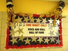 rock star theme classroom   Rock Star(Hollywood) Bulletin Board