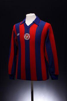 Crystal Palace Football Shirt (1975-1976, home) #cpfc
