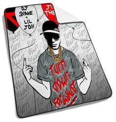 DJ Snake Art Pict Blanket