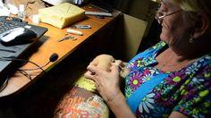 мастер класс по изготовлению скульптурной -текстильной куклы ч.10