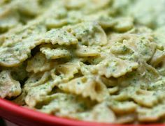 Creamy Zucchini Farfalle from VeganDad -   I'm really hoping to find a way to enjoy zucchini someday... it's so good for you!