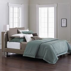 Simply Vera Vera Wang Simply Textured Bedding Coordinates.... or maybe this for the new bedroom.. love the colors