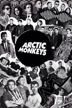 Arctic Monkeys Wallpaper, Monkey Wallpaper, Arctic Monkeys Lyrics, Tour Posters, Band Posters, Music Posters, Monkeys Band, Rock Poster, Monkey 3