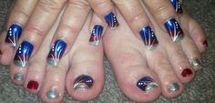 Brisa gel nails polished and design